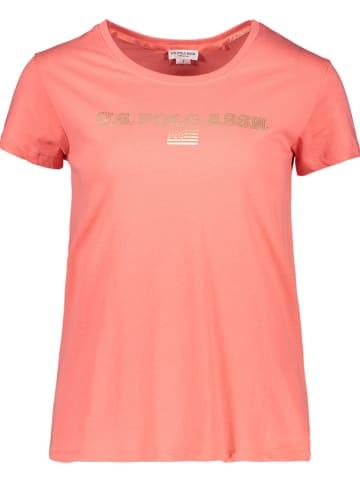 "U.S. Polo Shirt ""Clea"" zalmroze"