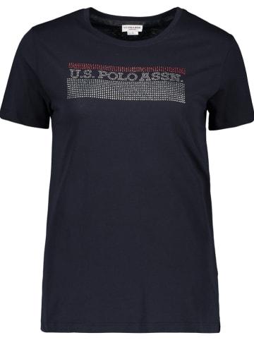 "U.S. Polo Shirt ""Uspa"" in Dunkelblau"