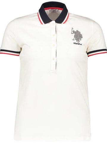 """U.S. Polo Poloshirt """"Scarlett"""" wit"""