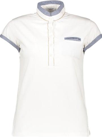 """U.S. Polo Koszulka """"Alexis"""" w kolorze biało-błękitnym"""