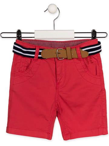 LOSAN Shorts in Rot