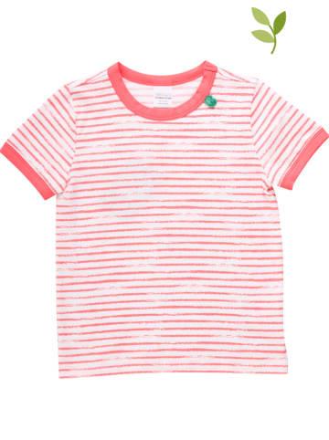 Fred´s World by GREEN COTTON Koszulka w kolorze czerwono-białym