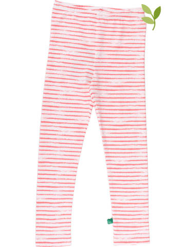 Fred´s World by GREEN COTTON Legging rood/wit