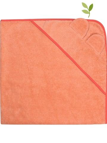 Fred´s World by GREEN COTTON Ręcznik kąpielowy w kolorze łososiowym