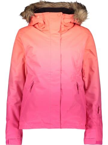 "Roxy Ski-/ Snowboardjacke ""Jet Ski"" in Pink/ Orange"