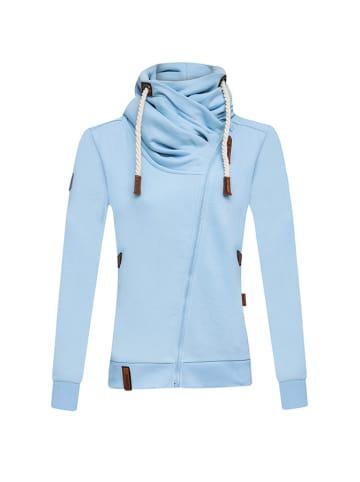 CULTURE Bluza w kolorze błękitnym