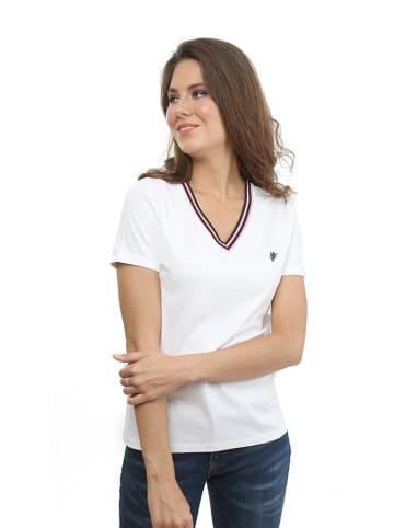 CULTURE T-shirt w kolorze białym