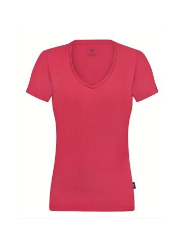 CULTURE T-shirt w kolorze koralowym