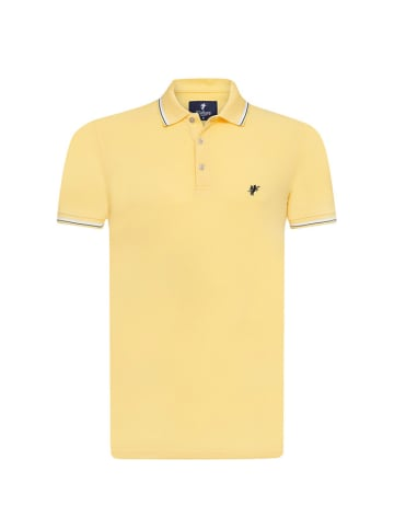 Denim Culture Poloshirt geel