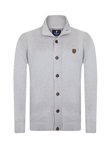 Denim Culture Cardigan in Grau
