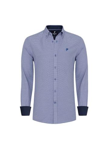 Denim Culture Koszula w kolorze niebieskim ze wzorem