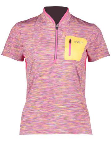 CMP Fietsshirt roze/meerkleurig