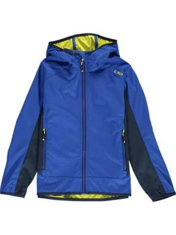 CMP Softshelljas blauw/donkerblauw