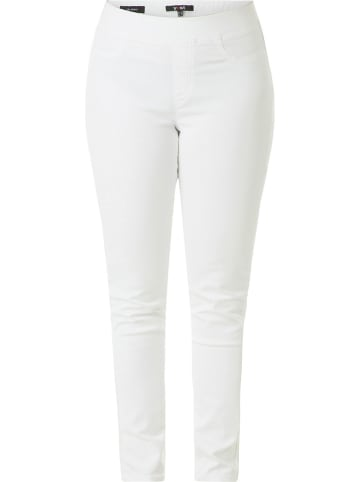 Yesta Broek - slim fit - wit