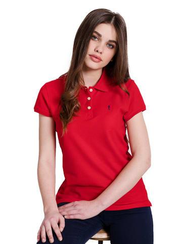 Polo Club Koszulka polo w kolorze czerwonym