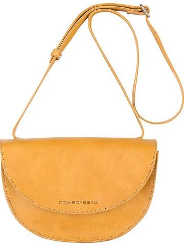 """Cowboysbag Skórzana torebka """"Shay"""" w kolorze pomarańczowym - 25 x 16 x 7 cm"""