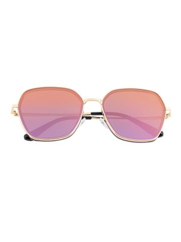 "Bertha Damen-Sonnenbrille ""Emilia"" in Rosa/ Gold"