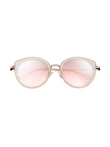 """Bertha Damskie okulary przeciwsłoneczne """"Reese"""" w kolorze różowozłotym"""