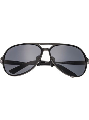 """Breed Herren-Sonnenbrille """"Earhart"""" in Schwarz"""
