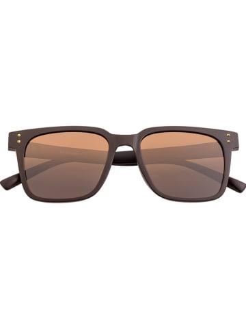 """Sixty One Damskie okulary przeciwsłoneczne """"Capri"""" w kolorze brązowym"""
