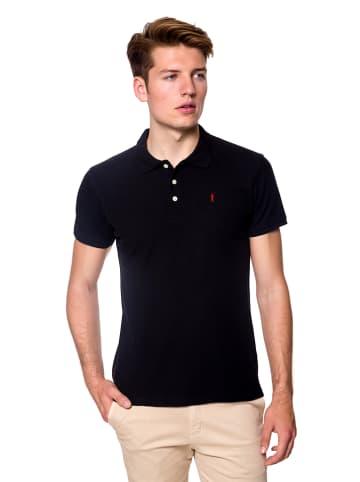 Polo Club Koszulka polo w kolorze czarnym