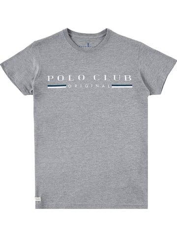Polo Club Shirt lichtgrijs