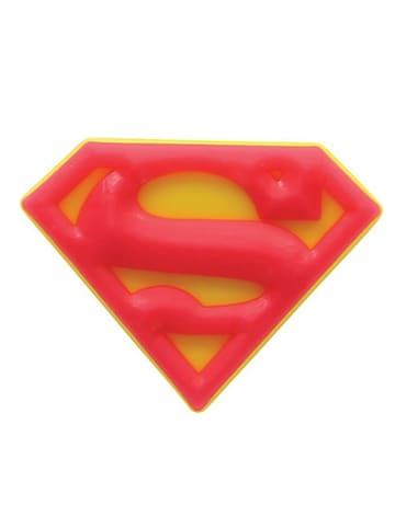"""Crocs Jibbitz """"Superman Logo"""" in Gelb/ Rot"""