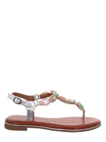 Laufsteg Sandalen in Silber