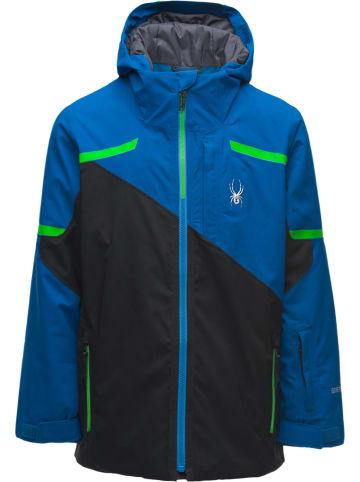 "SPYDER Ski-/ Snowboardjacke ""Couloir GTX"" in Schwarz/ Blau"