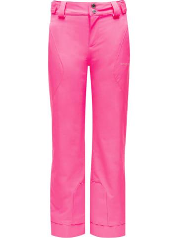 """SPYDER Spodnie narciarskie """"Olympia"""" w kolorze różowym"""
