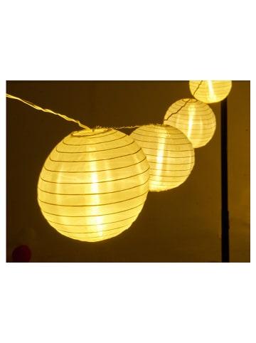 Gartenfreude LED-Lichterkette in Warmweiß - (L)7 m