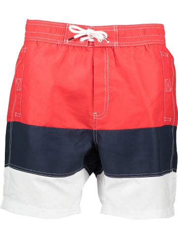"""Regatta Zwemshort """"Bratchmar VI"""" rood/donkerblauw/wit"""