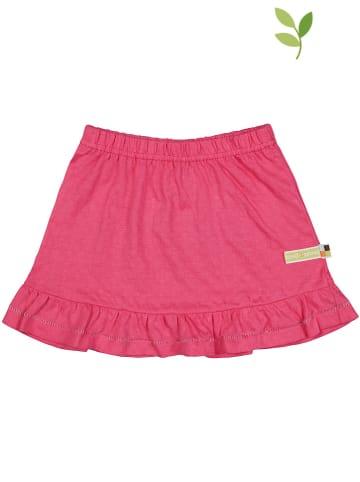 Loud + proud Spódnica w kolorze różowym
