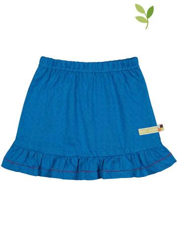 Loud + proud Spódnica w kolorze niebieskim