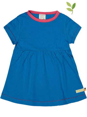 Loud + proud Sukienka w kolorze niebieskim