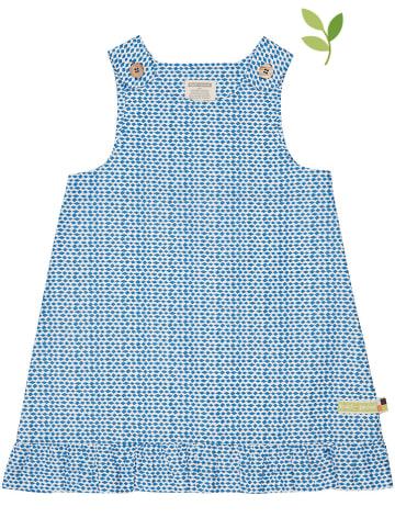 Loud + proud Kleid in Blau/ Weiß