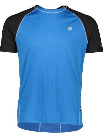 """Dare 2b Trainingsshirt """"Peerless"""" blauw"""