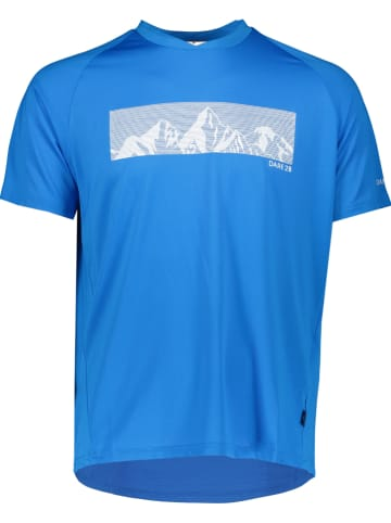 """Dare 2b Trainingsshirt """"Righteous II"""" blauw"""