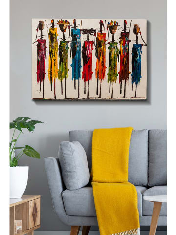 "ABERTO DESIGN Kunstdruk op canvas ""Kanvas Tablo 125"" - (B)100 x (H)70 cm"