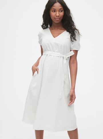 GAP Sukienka ciążowa w kolorze białym