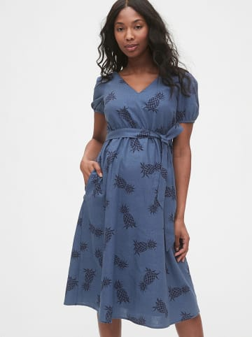 GAP Zwangerschapsjurk blauw
