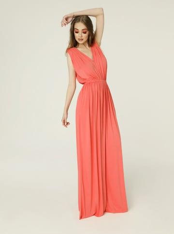 Madnezz Sukienka w kolorze koralowym