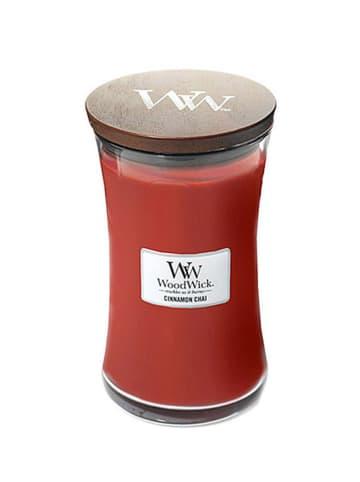 WoodWick Duża świeca zapachowa - Cinnamon Chai