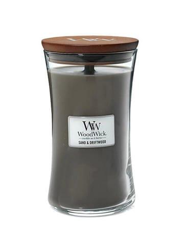 WoodWick Duża świeca zapachowa - Sand & Driftwood