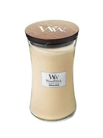 WoodWick Duża świeca zapachowa - Vanilla Bean