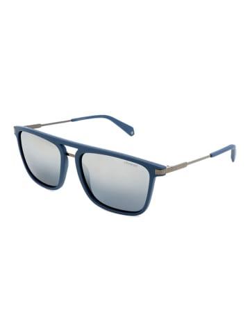 """Polaroid Okulary przeciwsłoneczne """"2060/S"""" w kolorze niebieskim"""