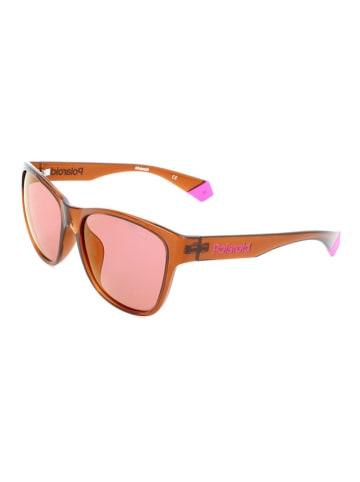 """Polaroid Okulary przeciwsłoneczne """"6077/F/S"""" w kolorze brązowym"""