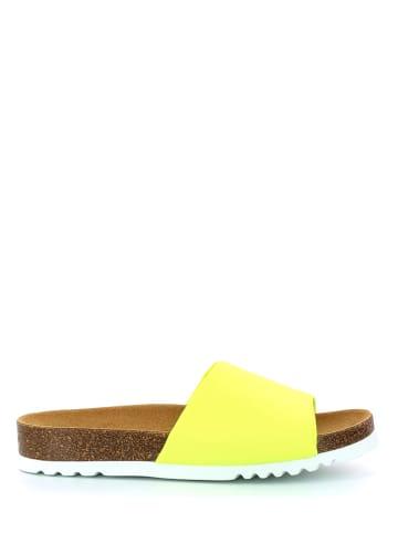 "Scholl Slippers ""Bowax"" geel"