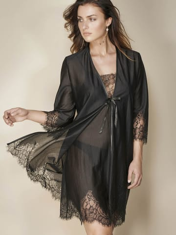 "Escora Kimono ""Lara"" w kolorze czarnym"