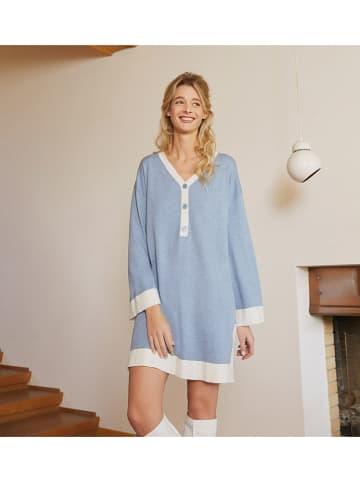Rodier Sukienka w kolorze błękitno-białym